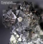 Bayern Mineralien Hagendorf Süd Phosphophyllit