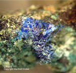 Harz Mineralien Juliushütte Astfeld Linarit