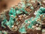 Eifel Mineralien Stolberg Münsterbusch Brochantit