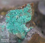 Mineralien Mansfelder Revier Oberhütte Eisleben Brochantit