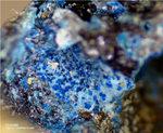 Mineralien Mansfelder Revier Kupferkammerhütte Hettstedt Connellit