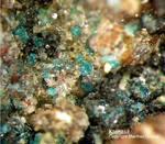 Mineralien Mansfelder Revier Kupferkammerhütte Hettstedt Ktenasit
